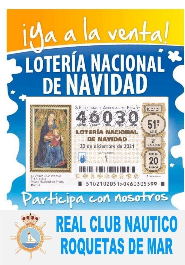 LOTERIA NAVIDAD CLUB NAUTICO